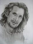 portrait, 2010, pencil on paper, 21 x 30cm