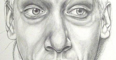 spiegelbilder 3/5, 2006, pencil on paper, 40 x 50cm