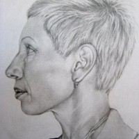self portrait, 2010, pencil on paper, 21 x 30cm