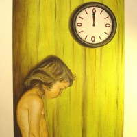 notime, 2007, oil on board, 50x60cm